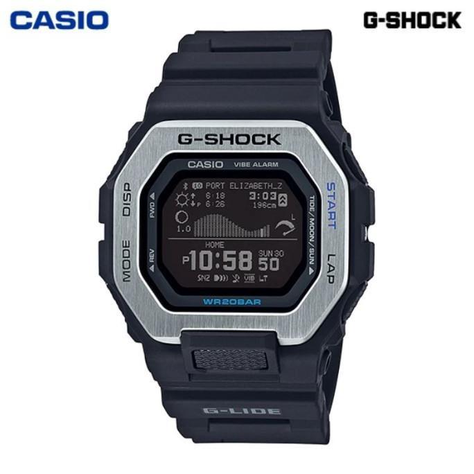 JAM TANGAN PRIA CASIO G-SHOCK GBX-100-1 ORIGINAL- GSHOCK GBX100 HITAM