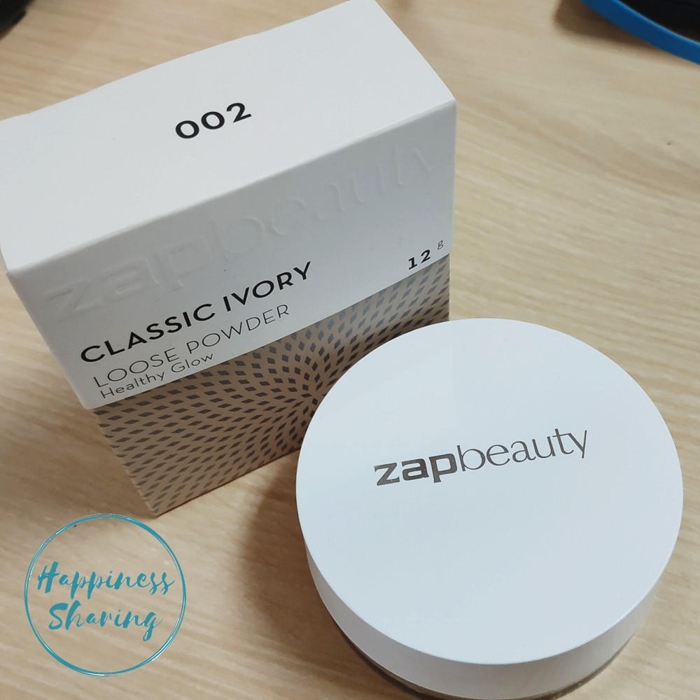 Adabox 002 zap beauty loose powder - healthy glow - 002 classic ivory