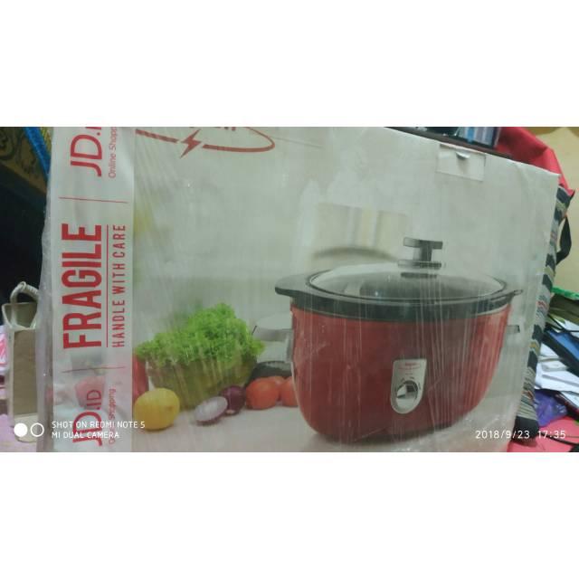 Maspion Slow Cooker MSC 6500 6 lter flas