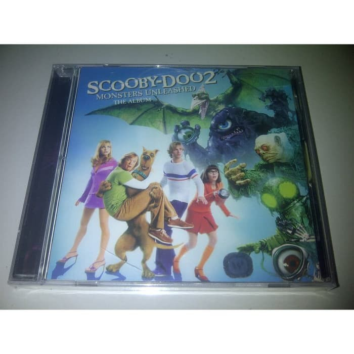Scooby Doo 2 Monsters Unleashed Soundtrack Original Cd Segel Simple Plan New Radicals 2 Unlimited Shopee Indonesia