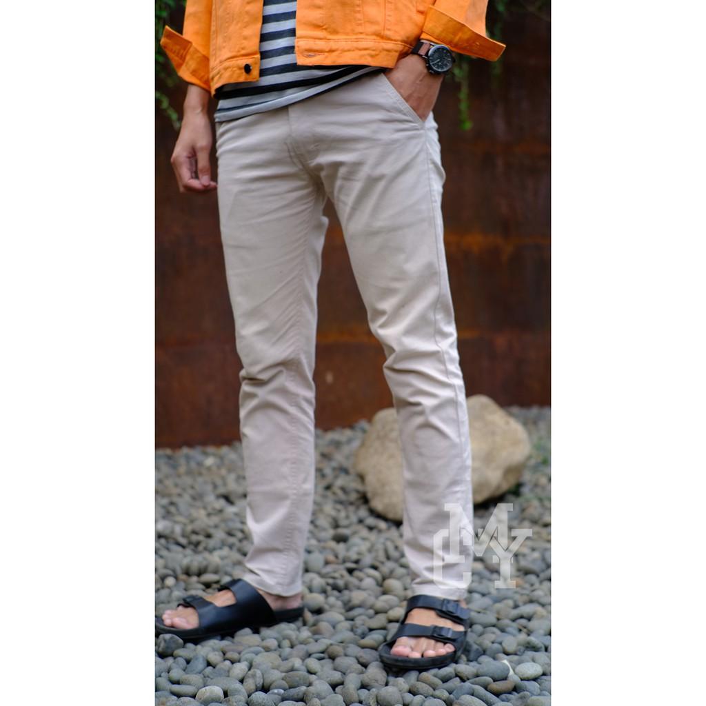 Celana Denim Pria Black Doff Shopee Indonesia Blackfield Ripped Jeans Hitam
