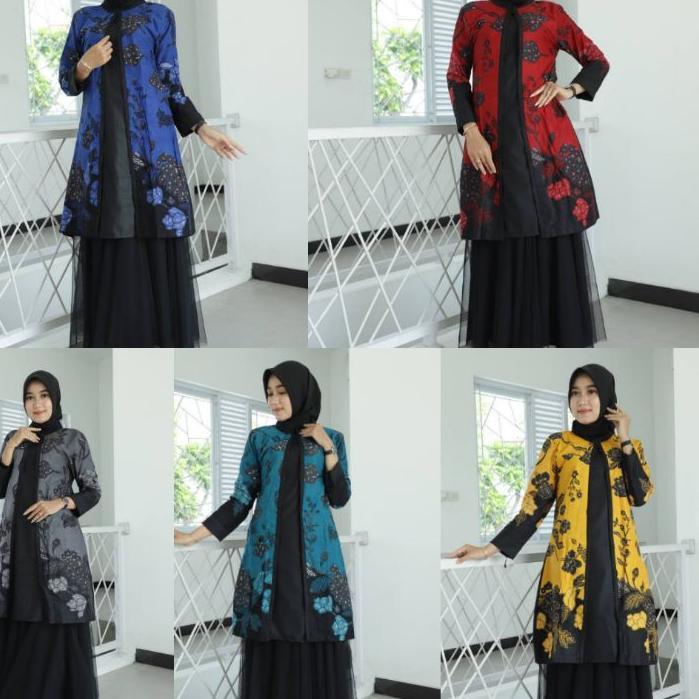 Hot Sale !!! Tunik Batik Guru Wanita • Seragam Batik Guru • Seragam Kerja Kantor • Baju Batik Wanita