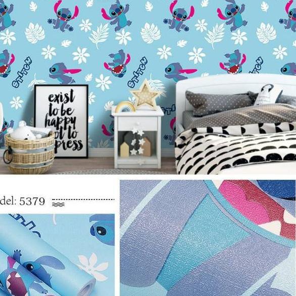 Km Wallpaper Dinding Stitch Walpaper Dinding Stitch 500 Shopee Indonesia