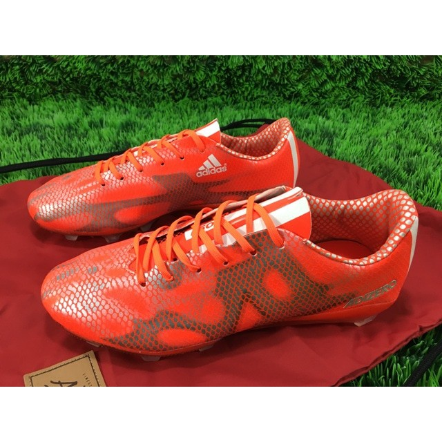 Sepatu Bola Adidas AdiZero F50 FG - Solar Red  576be5ddd3b8e