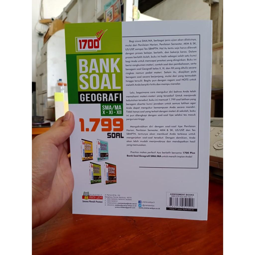 Buku Soal Geografi Sma Buku Geografi Sma Buku 1700 Bank Soal Geografi Sma Ma Edisi Revisi Shopee Indonesia