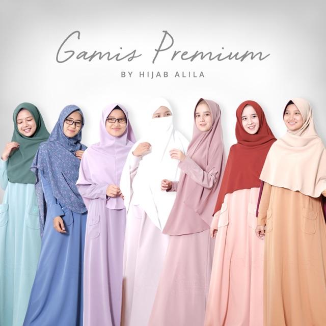 Gamis Premium Hanya Gamis Saja Ya Kak By Hijab Alila Shopee Indonesia