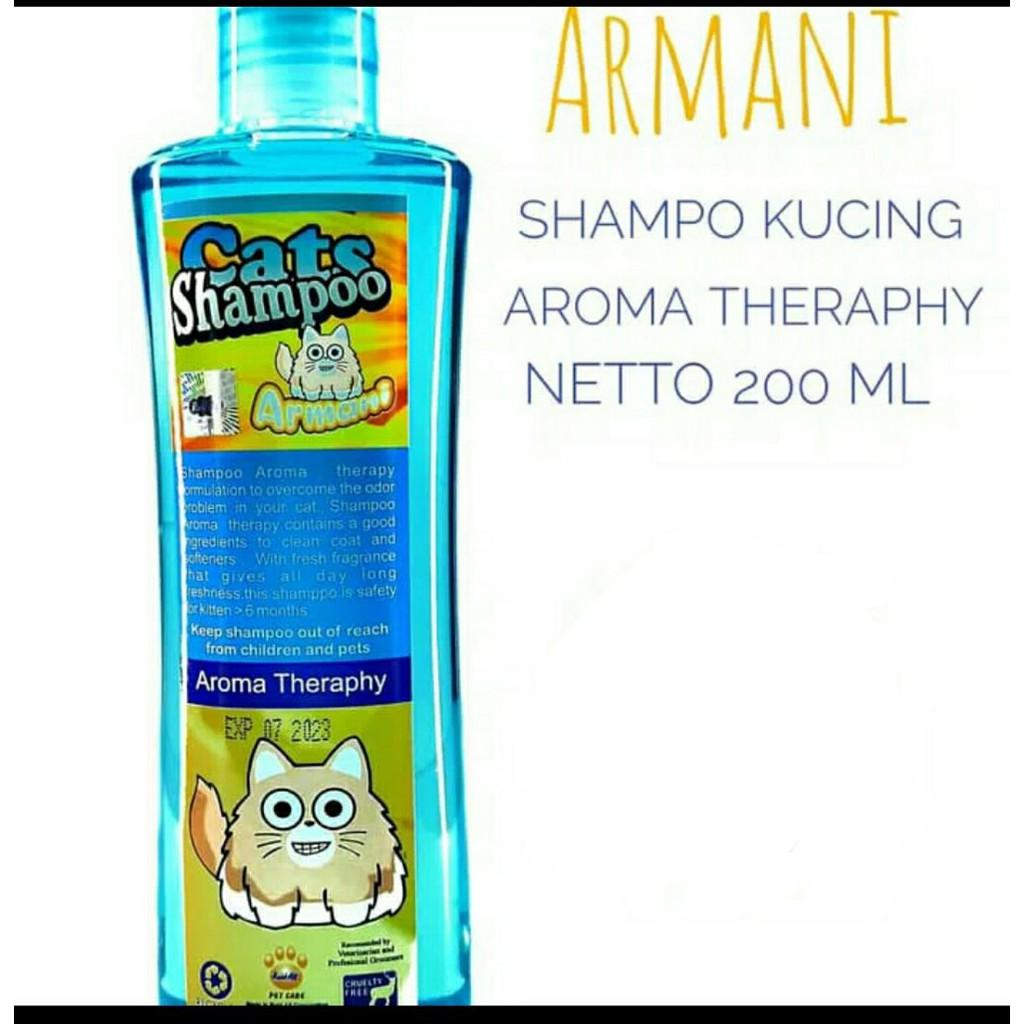 Shampo Armani Tick Flea Shampo Kucing Anti Kutu Shopee Indonesia