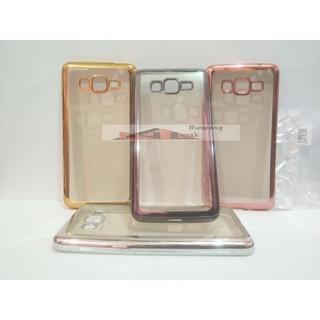 Samsung Galaxy Grand Prime G530 List Chrome Soft Case Ultra Thin SoftCase Ultrathin Jelly TPU | Shopee Indonesia