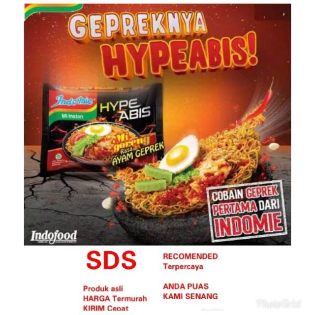 Indomie Gorem Ayam Geprek Hype Shopee Indonesia