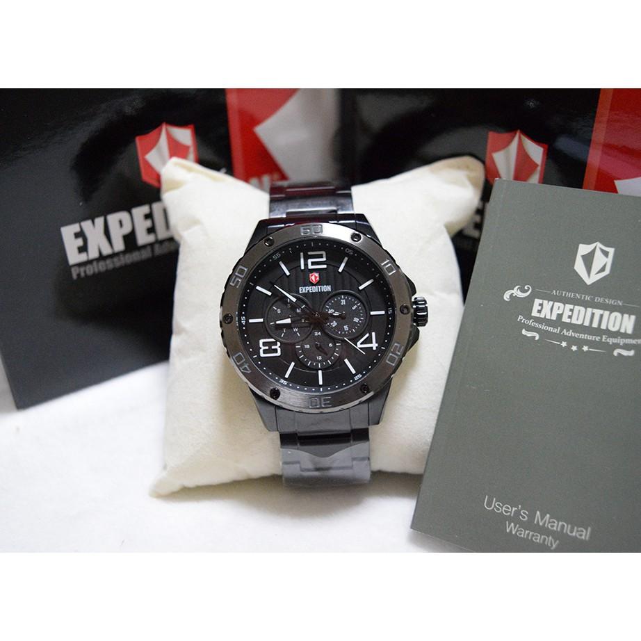 Expedition E6751 Silver Black Leather Men Shopee Indonesia E6339 Brown