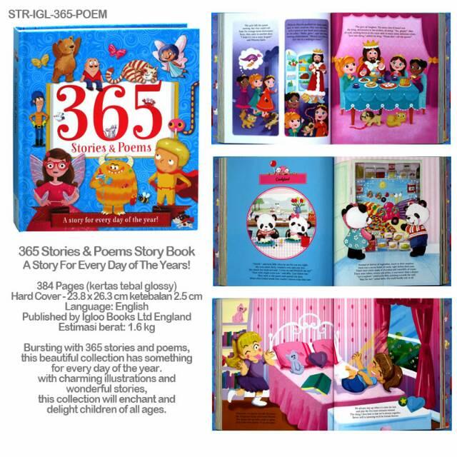 365 Stories Books Bundling Shopee Indonesia