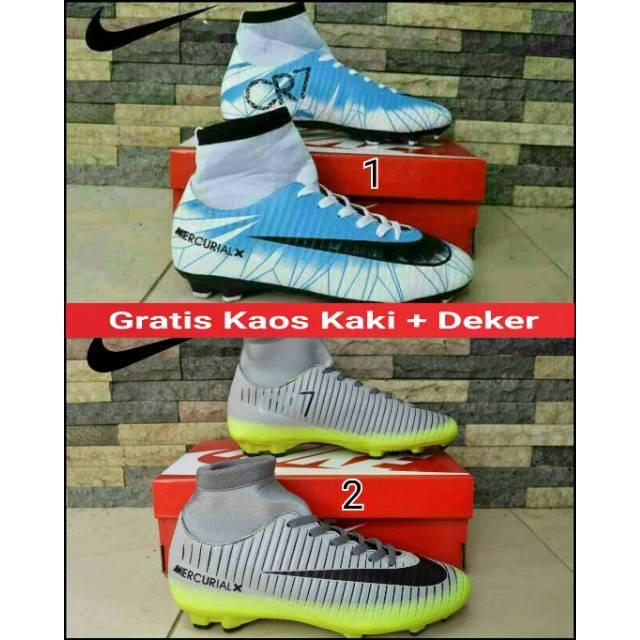 6b554a71d94 Original Sepatu Nike Mercurial Superfly CR7 Natural Diamond TF Football  Futsal