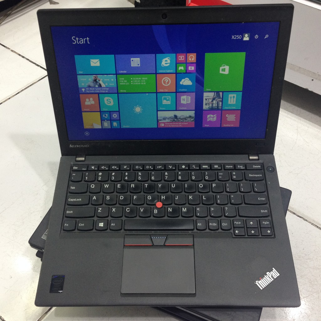 Murah Laptop Windows Lenovo Thinkpad X 250 No Camera Shopee Indonesia