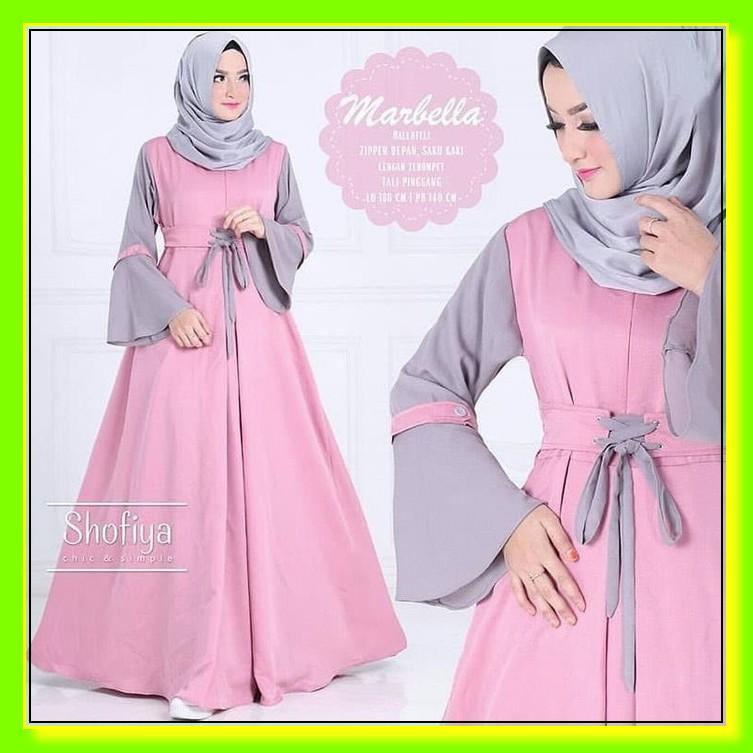 Gamis Casual Busui Motif Kotak Branded Original Lulla Looks BK364 Terlaris!! Atasan Pakaian Hijabe