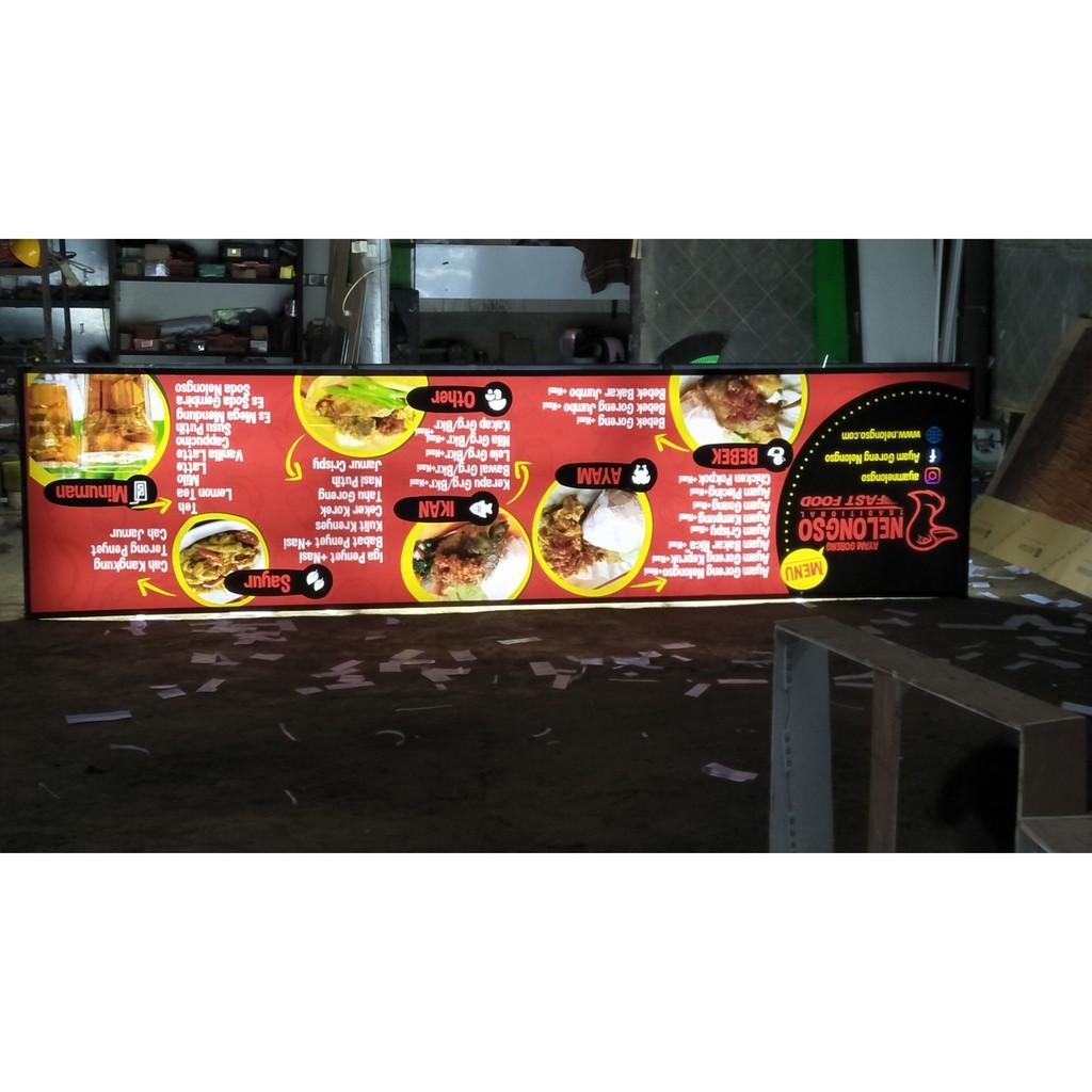 Pembuatan Neon Box Murah Malang Shopee Indonesia