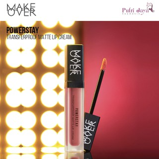 MAKEOVER Powerstay Transferproof Matte Lip Cream thumbnail