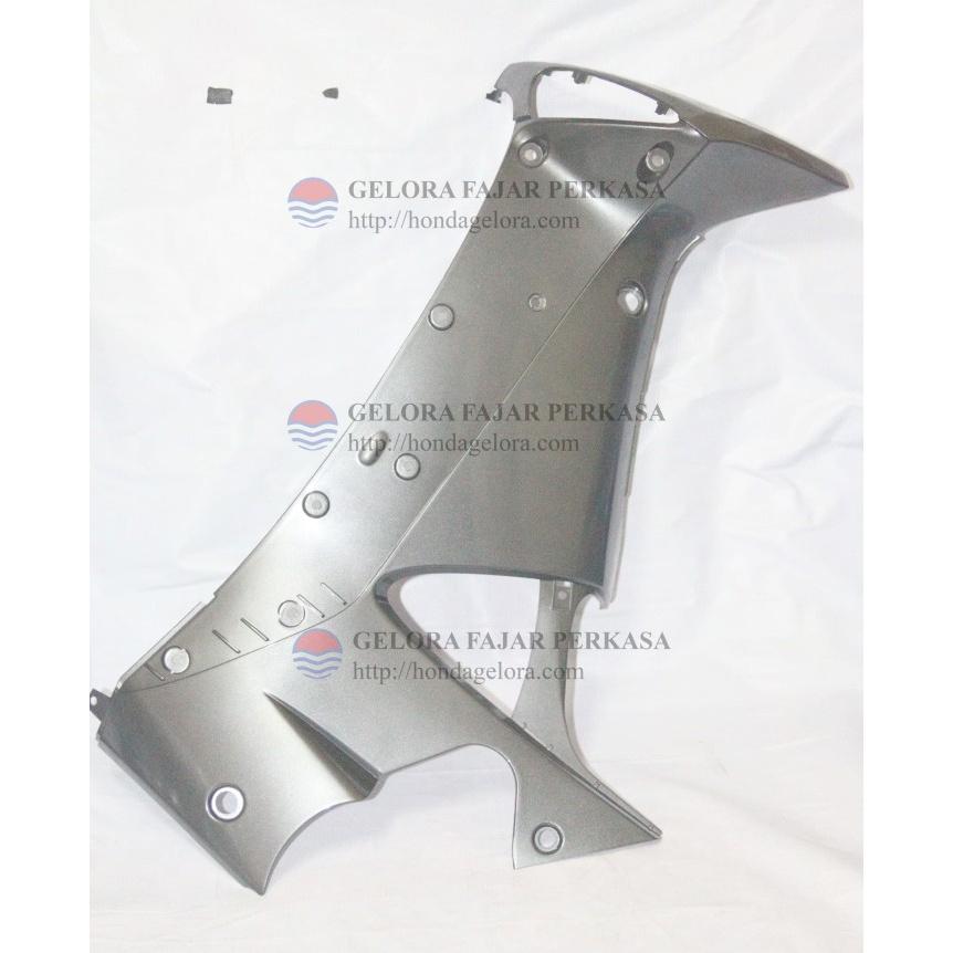TEBENG DALAM SUPRA X 125 SILVER - COVER L M/P(AN GY MET) - 64450KTM850FMN