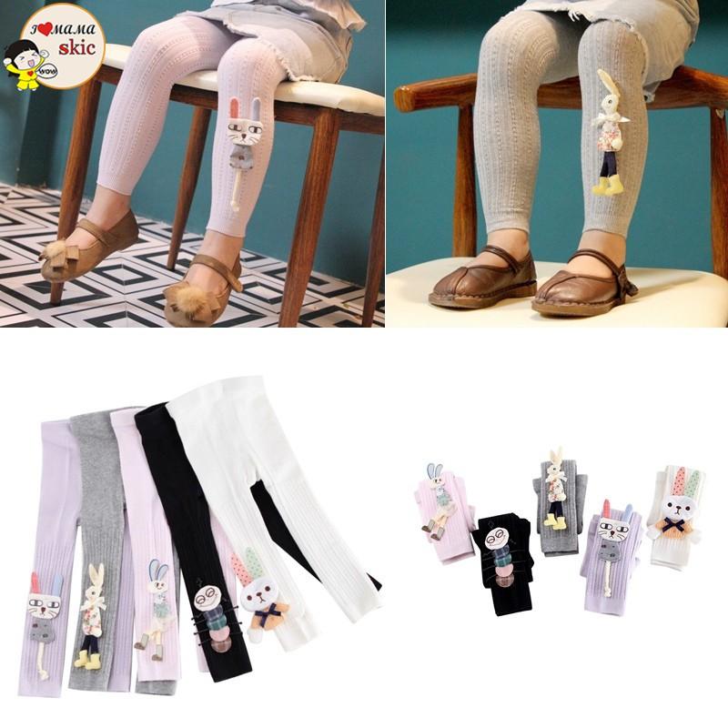 Celana Legging Panjang Katun Stretch Hangat Bayi Anak Perempuan Motif Kartun Shopee Indonesia
