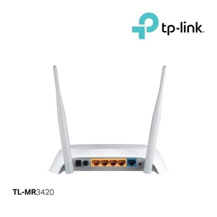 TP-Link TL-MR3420 Wireless N Router 300Mbps | Shopee Indonesia