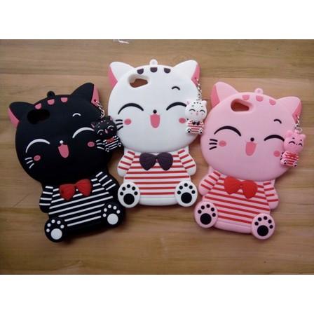 Case Silikon 3D VIVO Y53 Karakter Kucing Putih/Softcase/Silicon | Shopee Indonesia