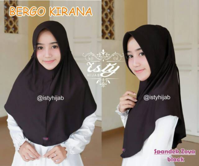 Bergo Serut Kirana By Isty Hijab Shopee Indonesia