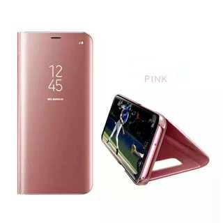 Casing & Covers Soft Case S8 PLUS Clear view standing cover case Samsung .