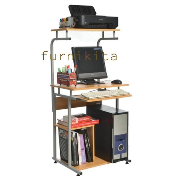 Jika Anda membeli Hot Deals Meja Komputer Murah Rak Komputer Murah Rangka Besi Huga 905 -