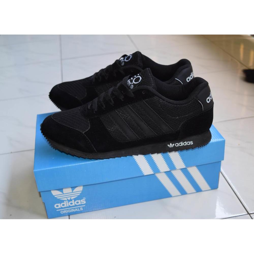 Sepatu Sekolah Adidas Neo Full Black Hitam Anak Pria Wanita Cewe Cowo Laki Perempuan Murah Grosir | Shopee Indonesia
