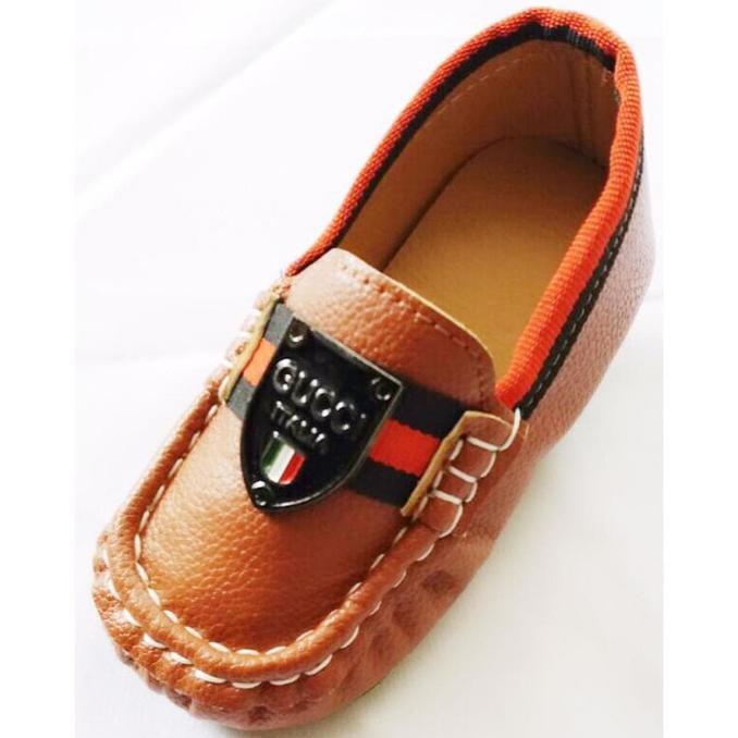 Best Seller! Sepatu Import Anak Laki Perempuan Anti Slip Gucci Logo ... 4ff06dd436