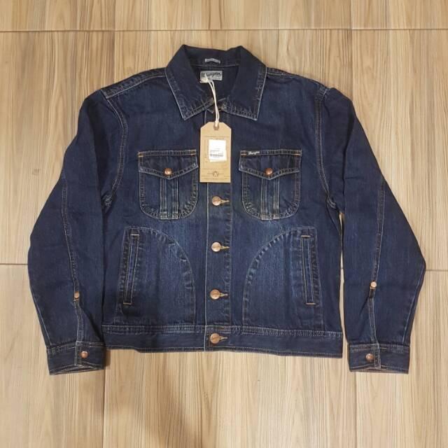 78+ Gambar Jaket Jeans Wrangler Terbaik