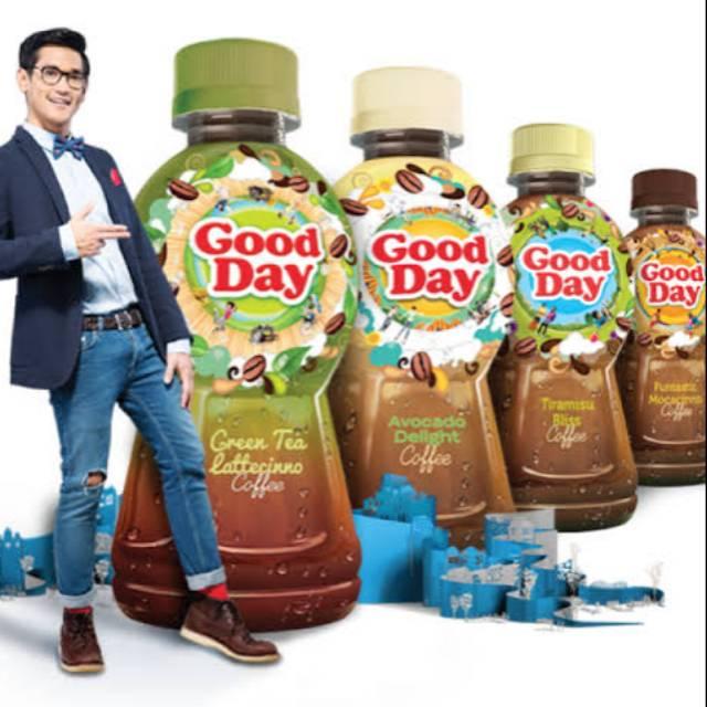 Kopi Good Day 250 Ml Botol Aneka Rasa Shopee Indonesia