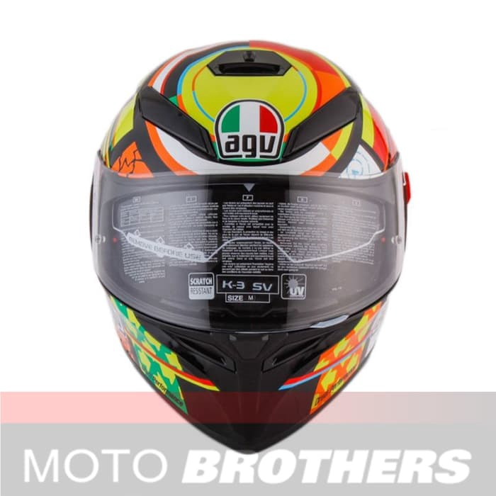Helm Agv K3 Sv Elements Shopee Indonesia
