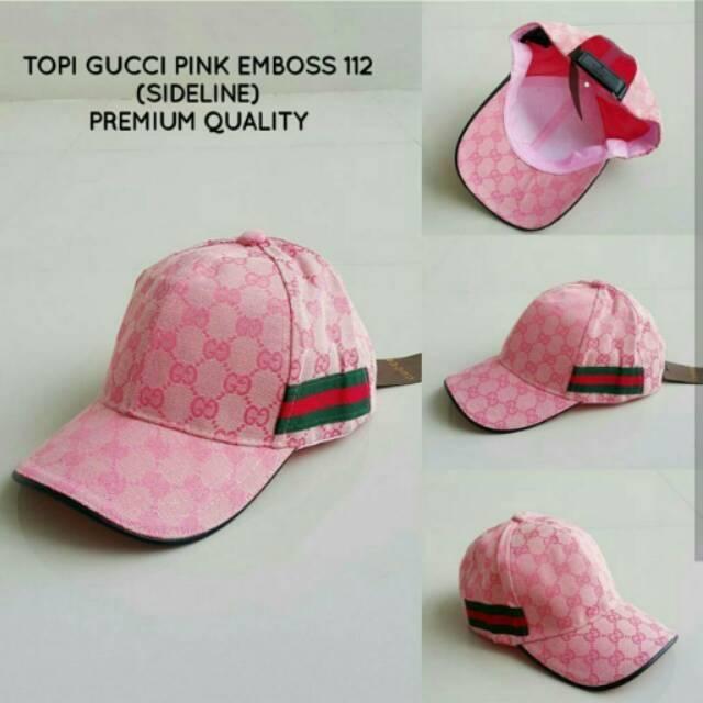 Topi Gucci Pink  19b4979da2