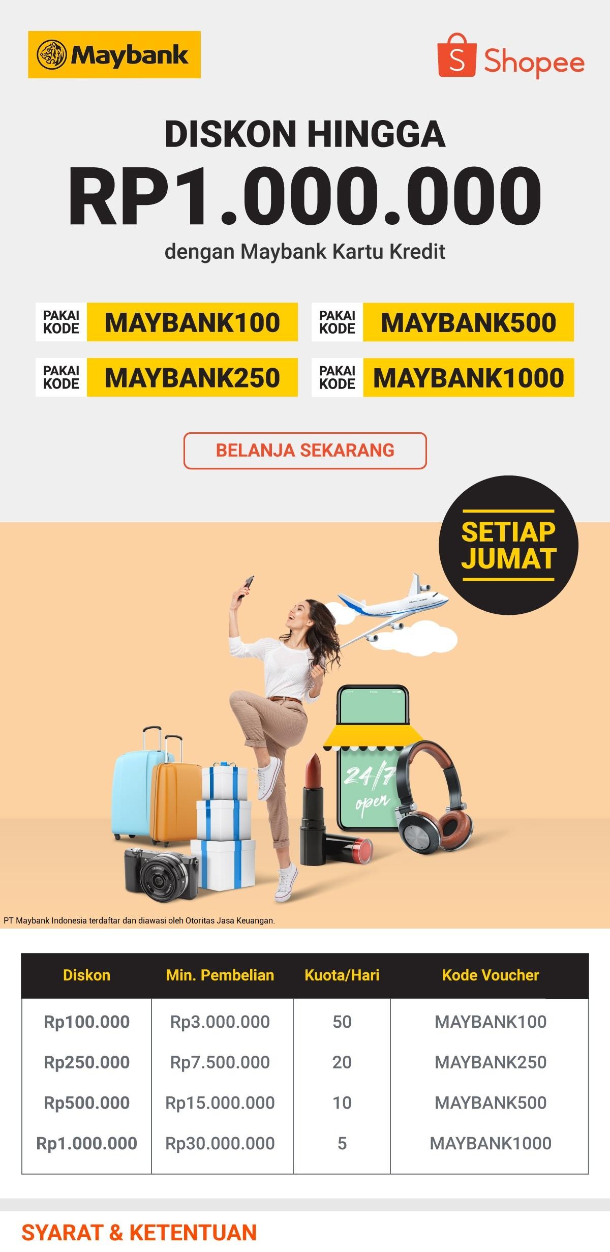 Promo maybank