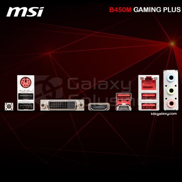 Motherboard MSI B450M GAMING PLUS Socket AM4 | Shopee Indonesia