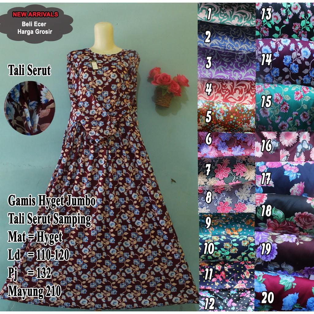 Gamis Murah Hyget Bahan Tebel Saffa Shopee Indonesia