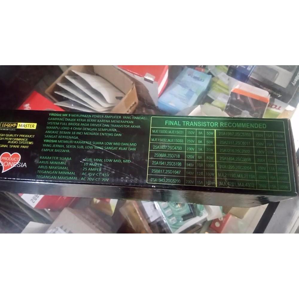 Power Kit Amplifier Audio Profesional Mega Ocl 500w Mono Phb 275 Indonesias Legendary Diy 150w Shopee Indonesia