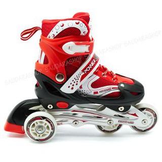 ... Skate Promo sepatu roda bajaj power superb power line bajaj biru dan  merah Berkualitas. suka  1 8377c42b10
