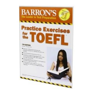 photo regarding Toefl Exercises Printable identify Barrons Teach Health For TOEFL Examine 7th Model with Solution Major and CD