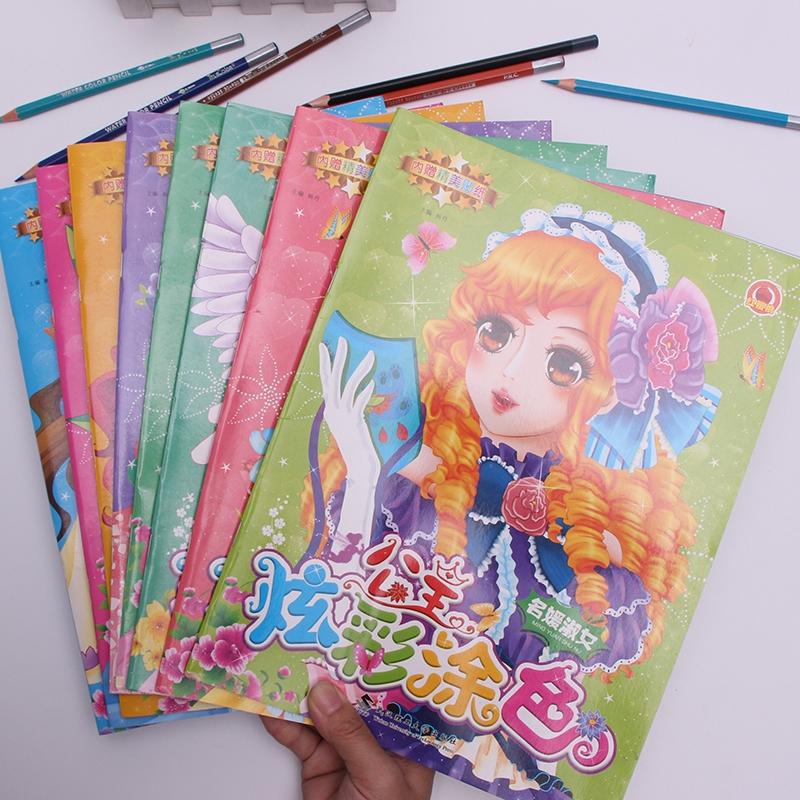 Putri Mewarnai Buku Anak Anak Tk Buku Gambar Buku Gadis Cantik Mewarnai Gambar 3 9 Tahun Gadis Berus Shopee Indonesia
