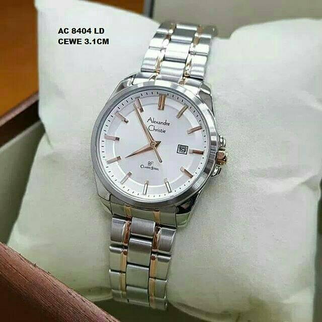 Alexandre Christie Wanita AC8501 Silver Rosegold Original | Shopee Indonesia