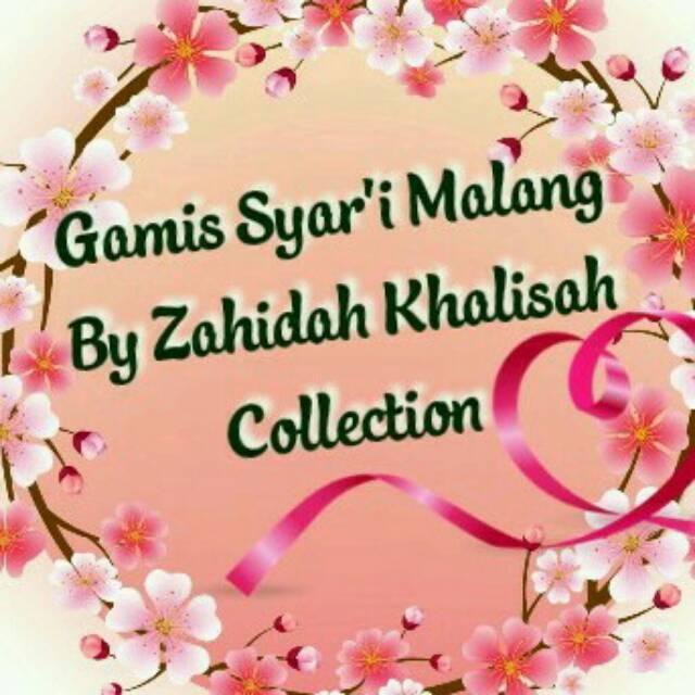 Toko Online Zahidah Khalisah Collection Gamis Syar I Malang