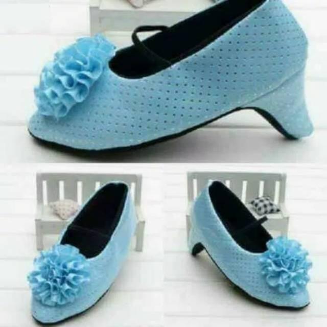 Sepatu Prewalker Shoes Anak Bayi Perempuan High Heels Hak Tinggi