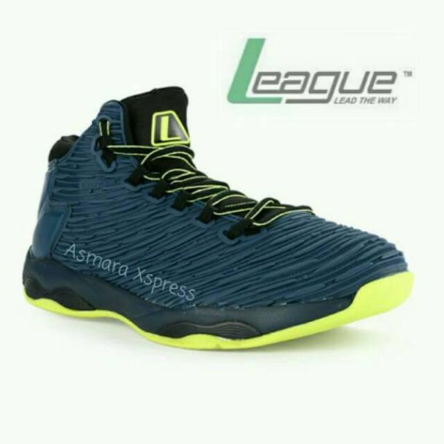 League Original Typhoon Sepatu Basket Pria - Nine Irin Flame Scarlet  Ant  0338783a08