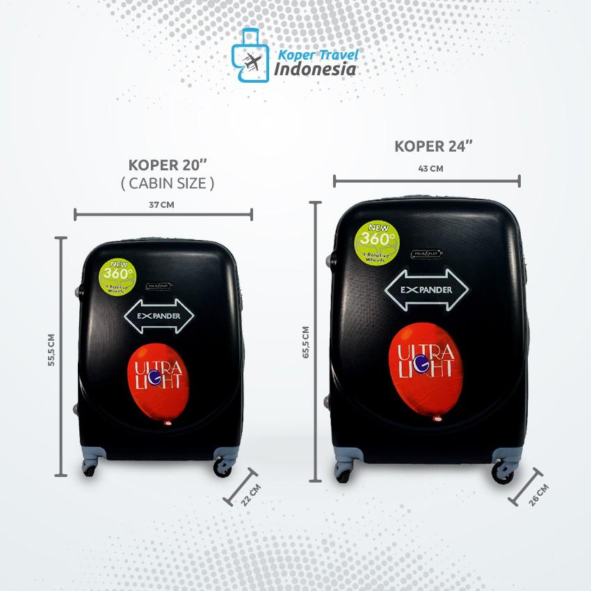 09c07d1d2a Koper Polo City Hardcase SET Size 20 inch + 24 inch - 303