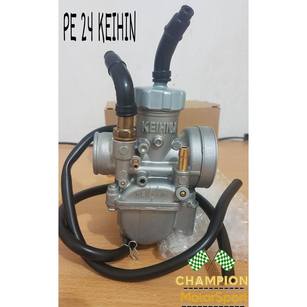 Karbu Keihin Pe 28 Karburator 28mm 26mm Karbulator 24 26 Kehin Motor Shopee Indonesia