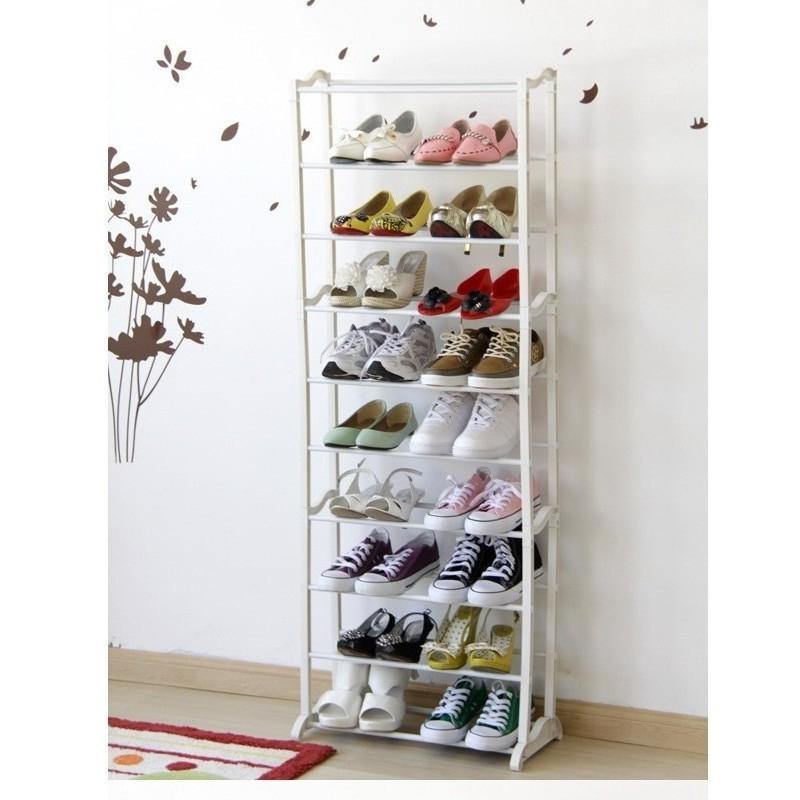Shop Medan Amazing Shoes Rack [ASR] / Rak Sepatu Susun 10 Tingkat.   Shopee Indonesia