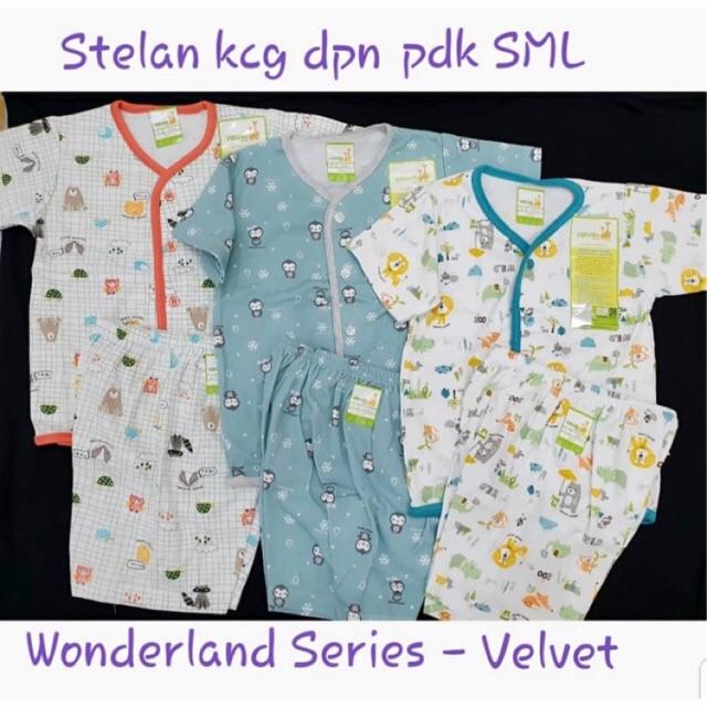 Baju Velvet Junior Motif Terbaru