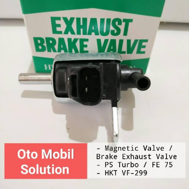 Exhaust Brake Valve Magnetic PS Turbo FE75 HKT VF-266