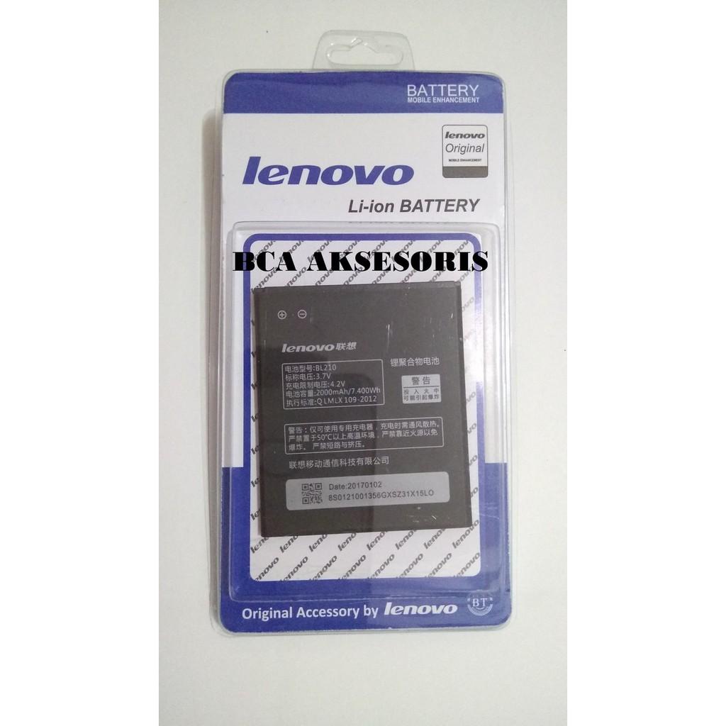 Baterai Batre Battery Lenovo S650/ S820/ A766/ Bl210 Original Aksesoris Smartphone Terupdate Murah